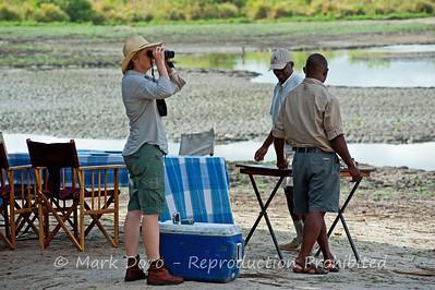Breakfast, Selous, Tanzania