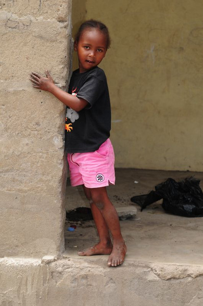 This little girl in Kaole village asked me to take her picture!