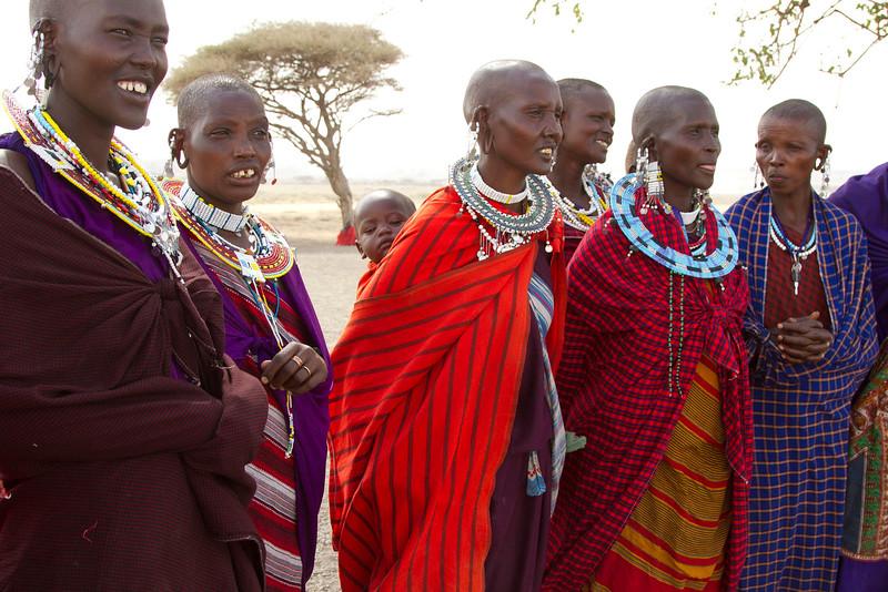 Mujeres masais