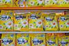 dishwashing soap on sale in a Dar es Salaam supermarket