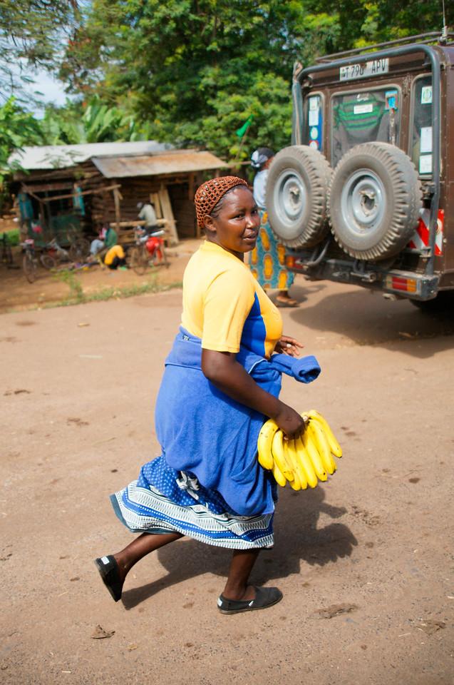 Woman with Bananas, Mto Wa Mbu, Tanzania