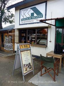 Best coffee, Arusha Airport Tanzania