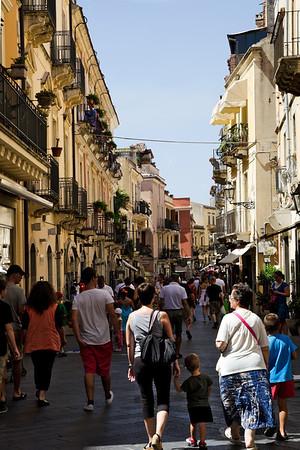 Taormina, Sicilia, Italia 2012