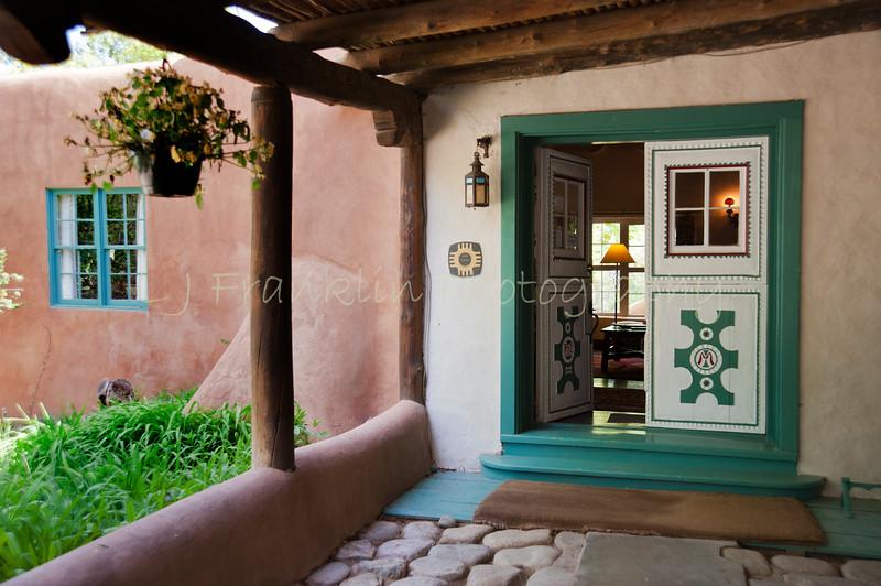 009Front door_Mabel Dodge Luhan Inn_Taos  NM_May 2011_002 copy