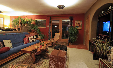 Richard, the owner, decorated this place using local artists work and funky Southwestern influences.
