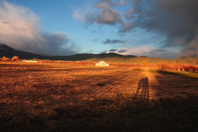 Just behind our Casa was a ranch that gave many great photographic opportunities in the intense light of sunset.