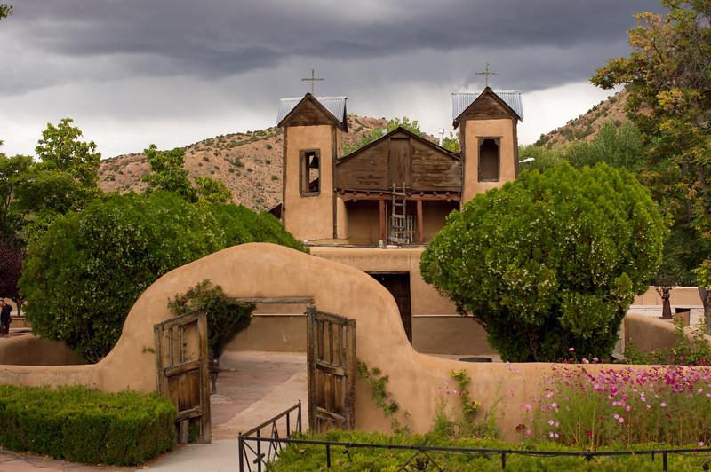 El Santuario de Chimayo, New Mexico.