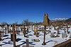 Taos Pueblo - church ruins & cemetary
