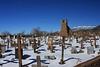 Taos Pueblo - church ruins & cemetary