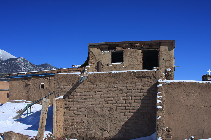No one home - Taos Pueblo
