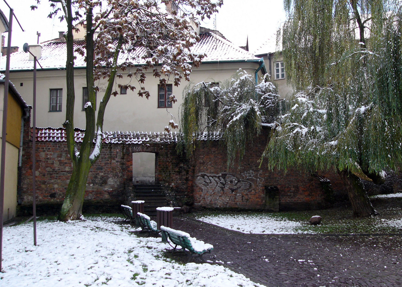 Remnants of the old city wall Tarnow