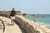 Radek with the Mediterranean sea behind him.