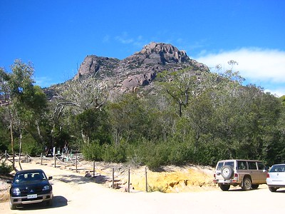 Mt Amos (view from carpark)