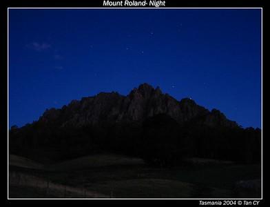 night view roland border
