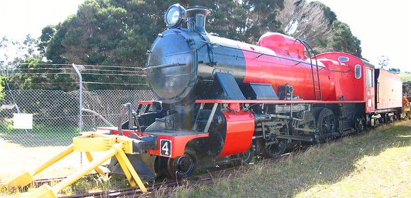 Train at Don river Railway