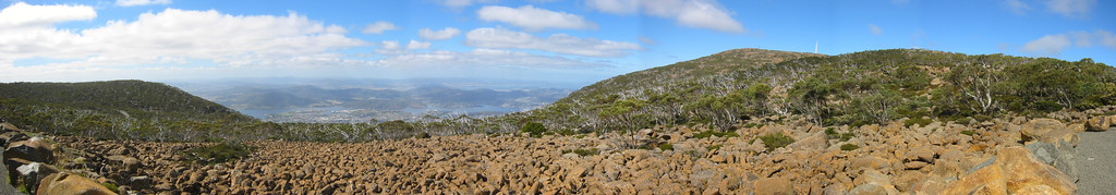 This is the way to Mt. Wellington