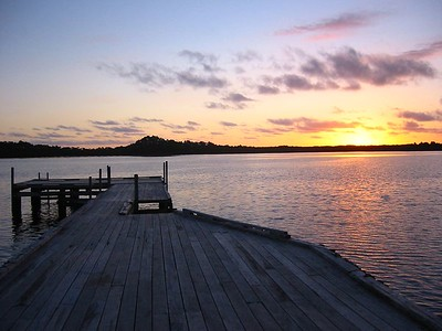 Sunset at Strahan