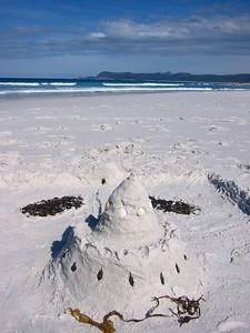Sandcastle at Friendly beach