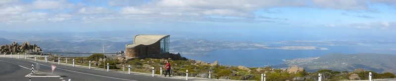 On top of Mt Wellington