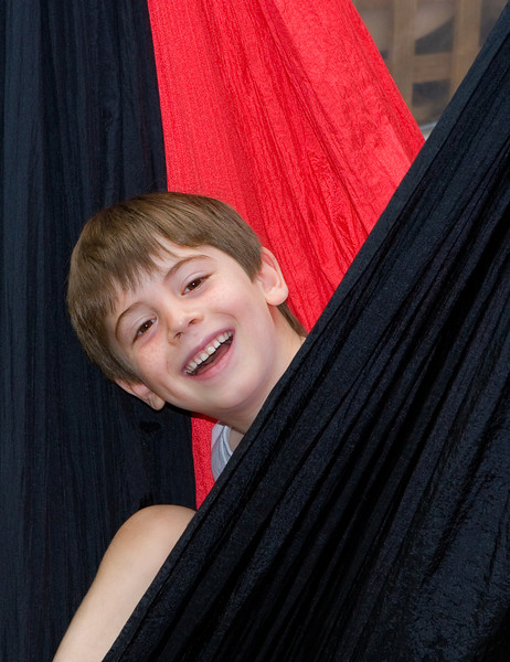 Sam in hammock