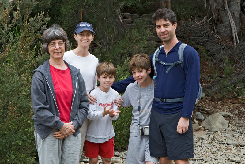 The group in Douglas-Apsley National Park.