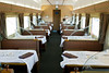 The dining car.  Unlike our Amtrak, the meals were actually quite good.
