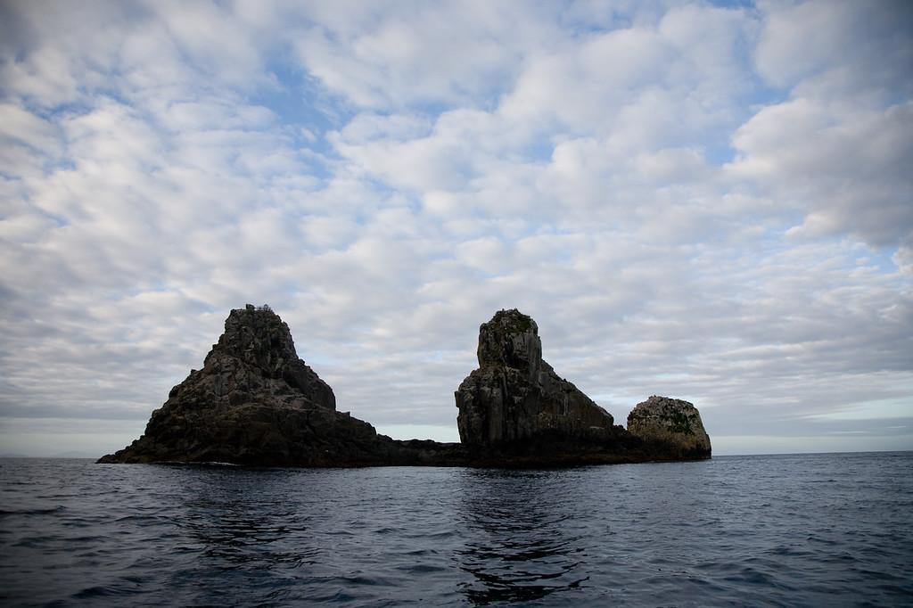 The Thumbs - off Tasman Island