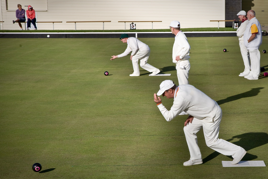 The high speed action of bowls