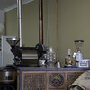 The serious coffee machinery at Blynzz Cafe in Beechworth