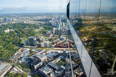 Melbourne from the Eureka Skydeck