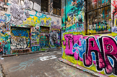 Graffiti in Hosier Lane