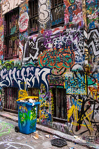 Graffiti in Hosier Lane