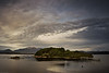 """Sarah Island on Tasmania's west coast; site of an old penal settlement as featured in the book """"For the Term of His Natural Life""""."""