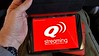 Cellphone picture taken by me on the Tasmania, Australia, and New Zealand OAT tour, Feb-Mar 2016.<br /> Droid Turbo cellphone.  Seat tablets for passengers on Qantas flt fm Melbourne to Hobart(Tasmania).