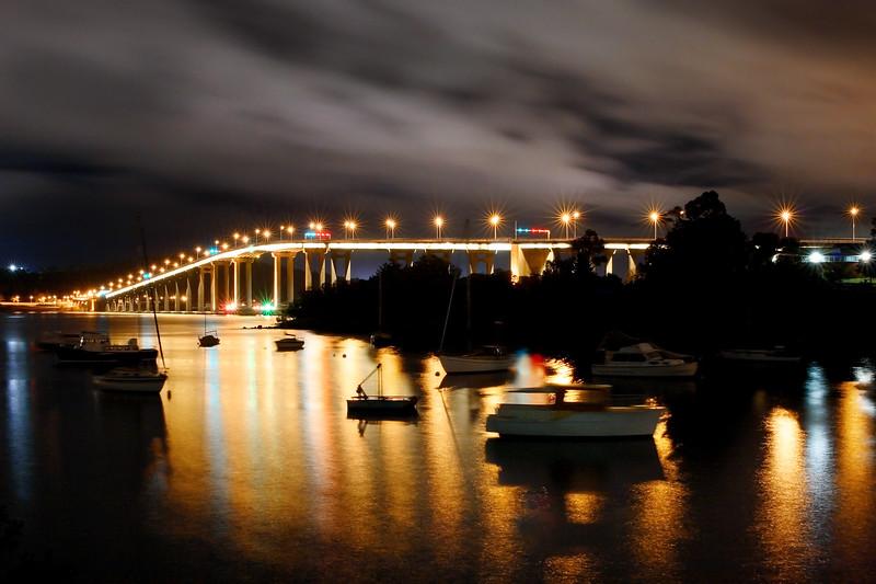 Tasman bridge.  Hobart, Tasmania.