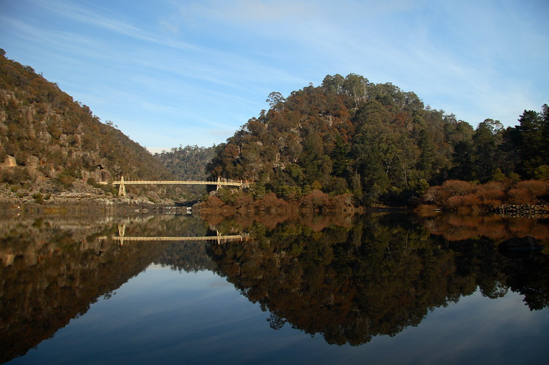 Cataract gorge.  Launceston, Tasmania.