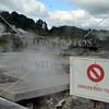 Steam vents at Whakarewarewa Thermal Valley in Rotorua, New Zealand.