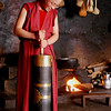 """Sept 21-30, 2004, Arunachal Pradesh, India<br /> Our young nun demonstrates the churning of yak butter and cheese, which dries over the hearth<br /> Arunachal Pradesh was formally a southern province of Tibet, annexed by the  British 1914 and remains part of India, though the region was the focal point of the Sino-India war of 1962. The region affords a unique insight into the Tibetan Bhuddist tradition, unhindered by the chinese cultural revolution and repression  which exists across the Border a hundred kilometers away.<br /> When the 14th Dalai Lama fled from Tibet, following the failure of a rebellion against the Chinese central government, he crossed into India on 30 March 1959 and spent some days resting at Tawang Monastery before reaching Tezpur in Assam on 18 April 1959<br /> <a href=""""http://en.wikipedia.org/wiki/Tawang_Monastery"""">http://en.wikipedia.org/wiki/Tawang_Monastery</a><br /> <a href=""""http://en.wikipedia.org/wiki/Tawang_district"""">http://en.wikipedia.org/wiki/Tawang_district</a><br /> <a href=""""http://tawangmonastery.org/"""">http://tawangmonastery.org/</a><br /> (Credit Image: © Chris Kralik/KEYSTONE Press)"""