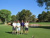 Team photo on number 10 tee at Oak Creek Country Club.