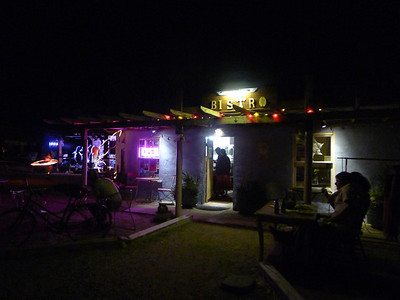 Tecopa Resort Night