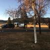 Tehachapi campsite at sunrise
