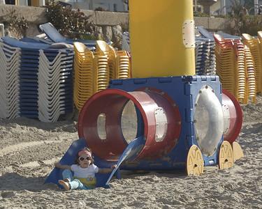 Tel Aviv Beach Visit with Nagles
