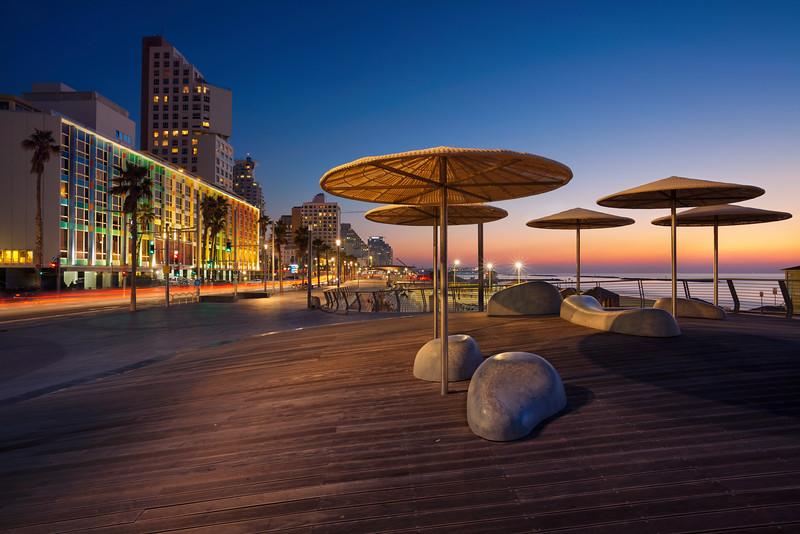 Te Aviv Promenade.