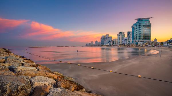 Tel Aviv Skyline.