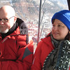 Mark & Aimee enjoying the gondola ride