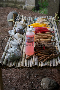 More offerings. Costa Azul, Sonsonate, El Salvador.