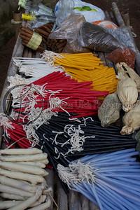 All offerings to be burned. Costa Azul, Sonsonate, El Salvador.