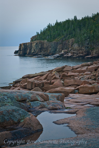 View From Ocean Trail. Otter Cliffs