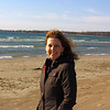 Andrea on Sandbanks Provincial Park beach