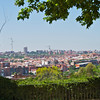 View of Madrid from Parque Oueste